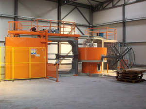 Macchine Carosello stampaggio rotazionale ROTOMACHINERY GROUP